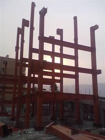 上海钢结构楼房,彩钢板楼房,轻钢架楼房公司