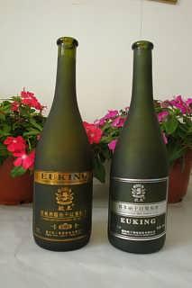 墨绿色葡萄酒瓶,玻璃包装制品