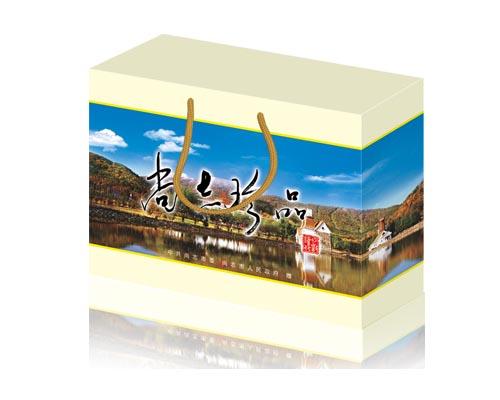 内蒙古 吉林大米包装设计