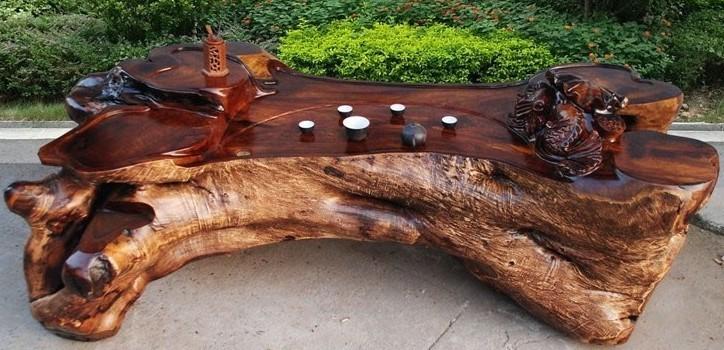 3 根雕茶几 鸡翅木实木树根根雕木雕功夫茶桌茶海茶台