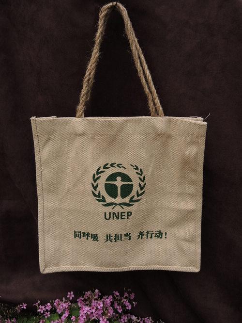 棉麻手提袋帆布购物袋广告袋包装袋