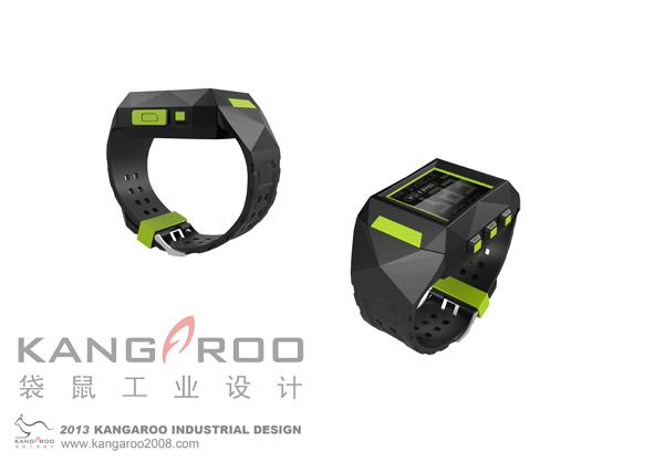 手表跟踪器外观设计,结构设计-钱眼产品