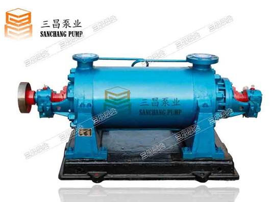 自平衡卧式多级离心泵 多级离心泵浅谈这个离心泵的组成结构