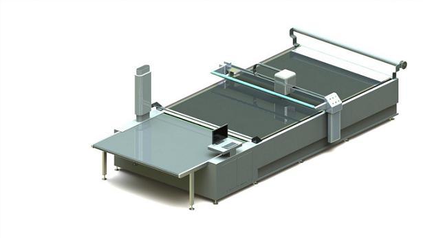 自动裁剪机-裁剪衣服的机器