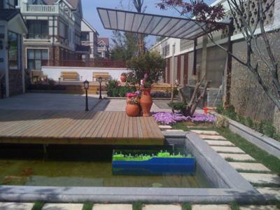 青岛别墅庭院设计施工