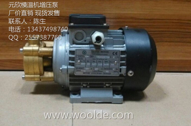 TECOTA MOTORI元欣YS-10A加压泵125W