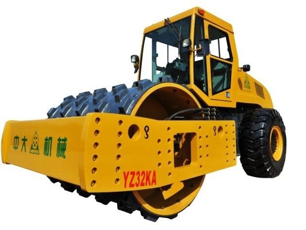 YZ32重型压路机在高填方路基压实及补强