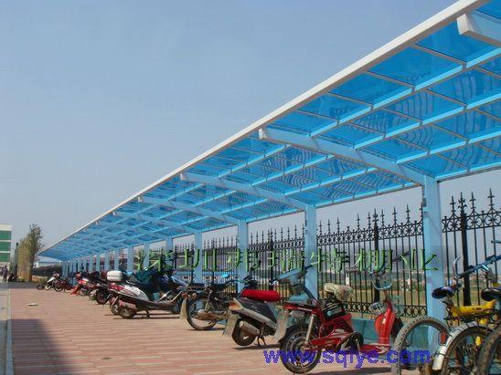 北京自行车棚制作/自行车棚厂家/免费设计
