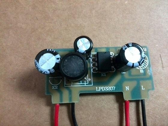 dip-7封装220v转12v电源ic