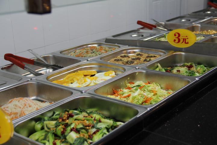 速来香台湾铁板烧自选菜品;自选餐厅快餐图片图片下载分享;炒什么菜放香油图片