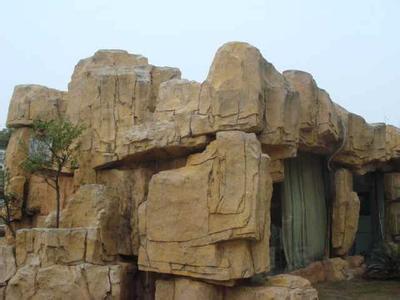 河南特色大型塑石假山园林假山儿童主题公园假山工程