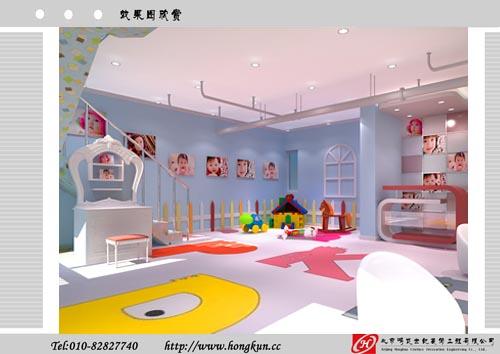 儿童影楼装修|儿童影楼室内设计装修公司