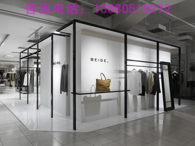 成都专业服装店装修设计/品牌服装专卖店装修设计/高端服装店装修设计