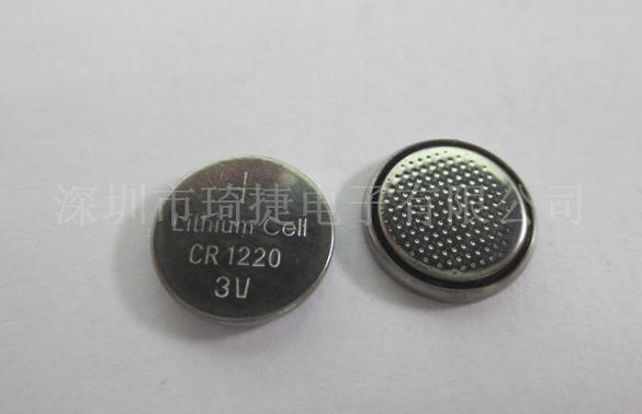 新产品cr1220 3v锂电池图片