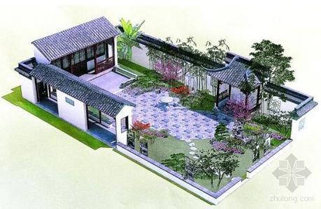 江苏宿迁酒店别墅景观设计