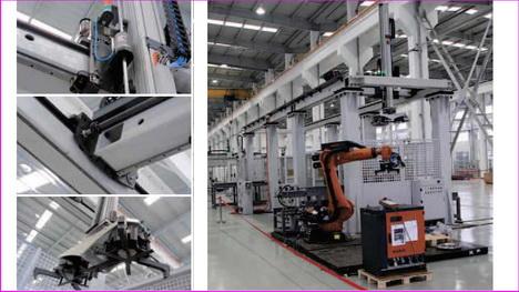 韩国桁架机械手(机器人)