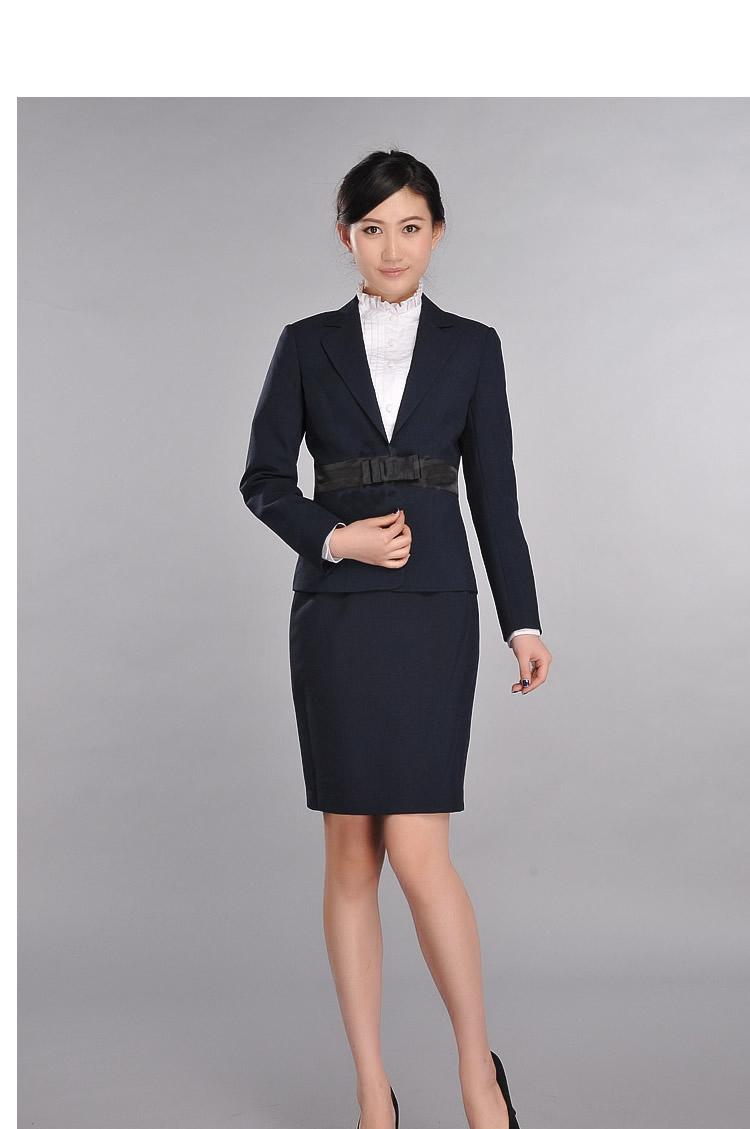 女性职业装�yg�_办公室文员的女性职业装在广州天河有那家公司专业定制女性职业装的
