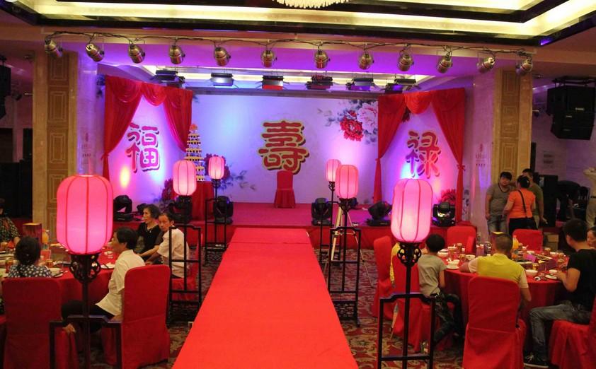 上海生日寿宴布置策划公司-钱眼产品图片