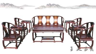 复古红木沙发 古典红木家具行情 王义红木家具