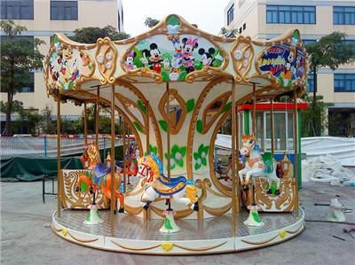天津儿童游乐场设备12座转马公司