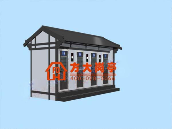 旅游景区木制卫生间/移动厕所/防腐木移动厕所
