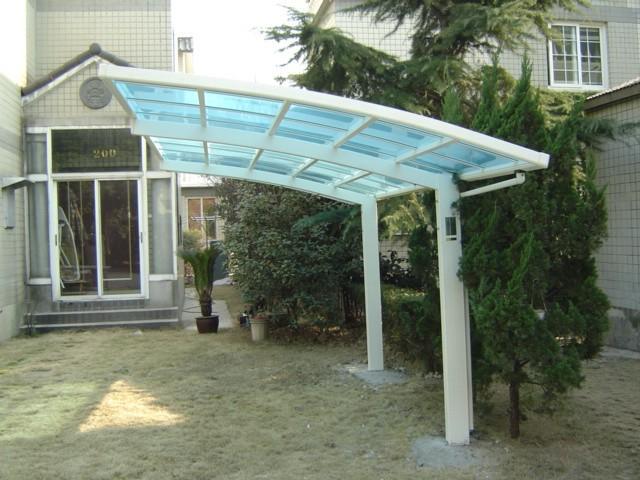 农村房子遮雨棚设计