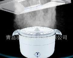 油烟机效果演示发烟装置烟雾锅生产厂家/发烟锅价格
