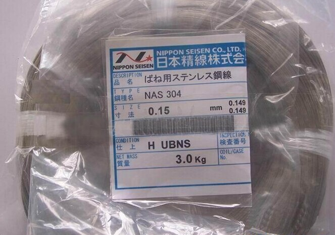 进口不锈钢丝,SUS304精线,NAS日本精线