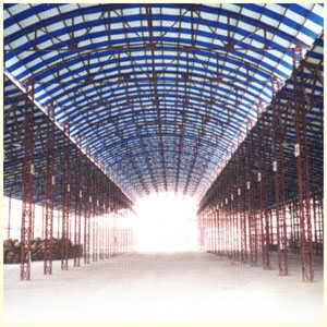 仓库钢结构除锈刷油漆防腐