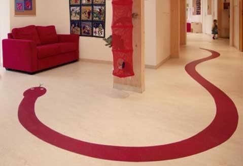 儿童区域pvc地板材料介绍