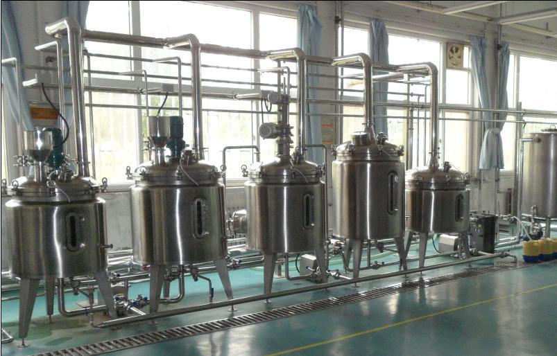啤酒生物发酵生产线