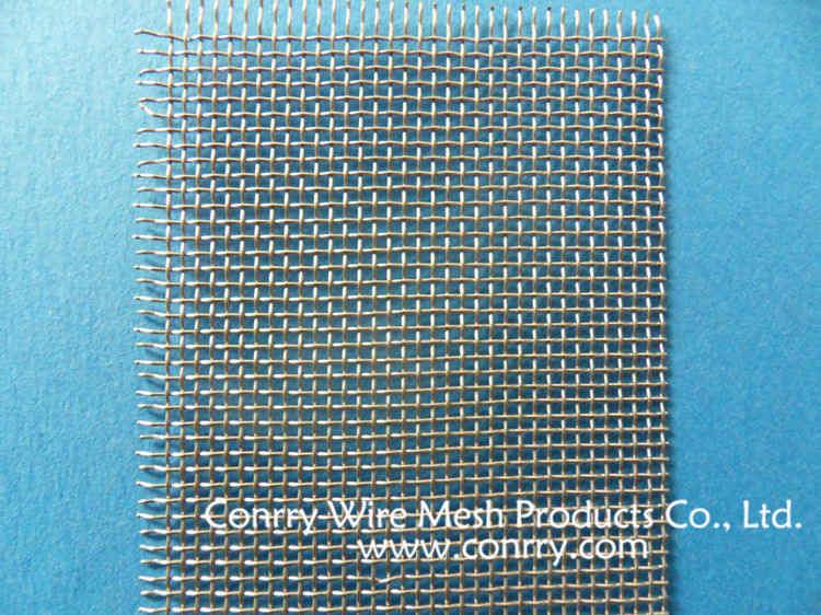 孔形:正菱形,长菱形 ②集流银网 银丝网(平纹编织型) 特点:具有很好的