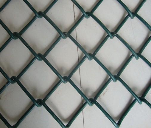 厂家批发编织勾花网,包塑勾花网,菱形编织网-安平县朗顺金属丝网制品