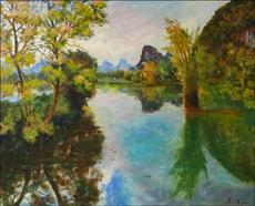 求购油画 水彩画等西洋画作 原创油画 纯手绘水彩画