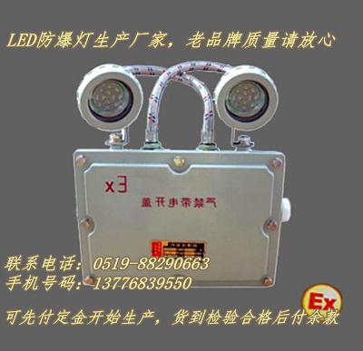 led双头防爆应急灯bfc8185防爆安全疏散指示灯