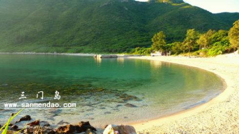 每周六三門島露營燒烤 三門島海島旅游,海島穿越兩天游
