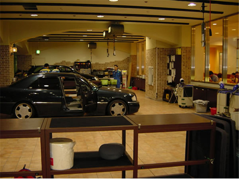 成都最专业的汽车美容店装修设计公司|成都汽修店装修