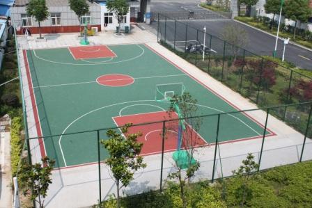 标准篮球场