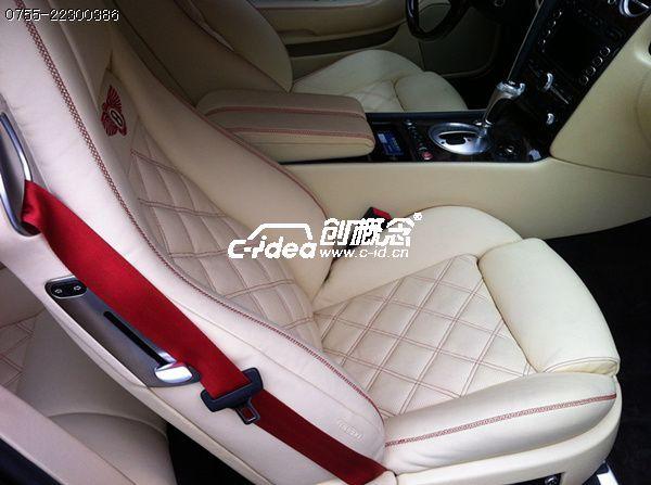 奥迪A4真皮座椅修复,汽车座椅改色 翻新高清图片