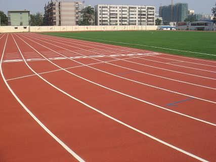 标准透气型塑胶跑道施工 塑胶跑道专业施工