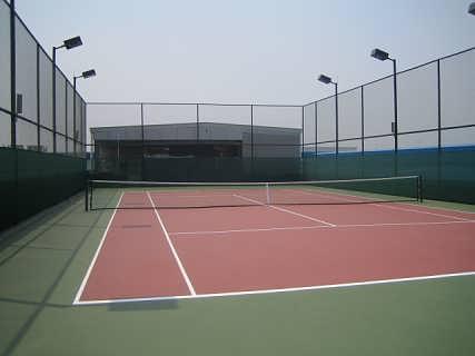 北京网球场施工图片1