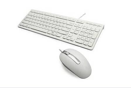 有线键盘鼠标套装correa-5821(白色)