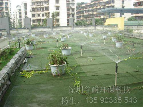 深圳园林别墅花园养护物业楼面花卉公园绿地微喷灌喷淋