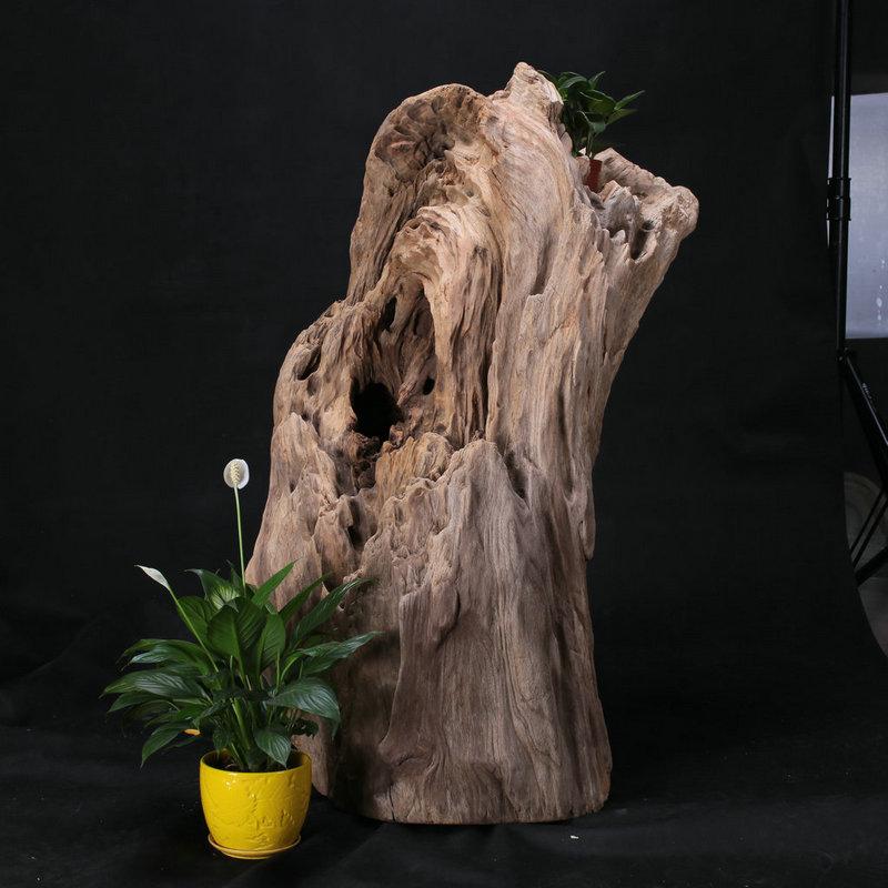 枯木禅意摆件雕刻图片