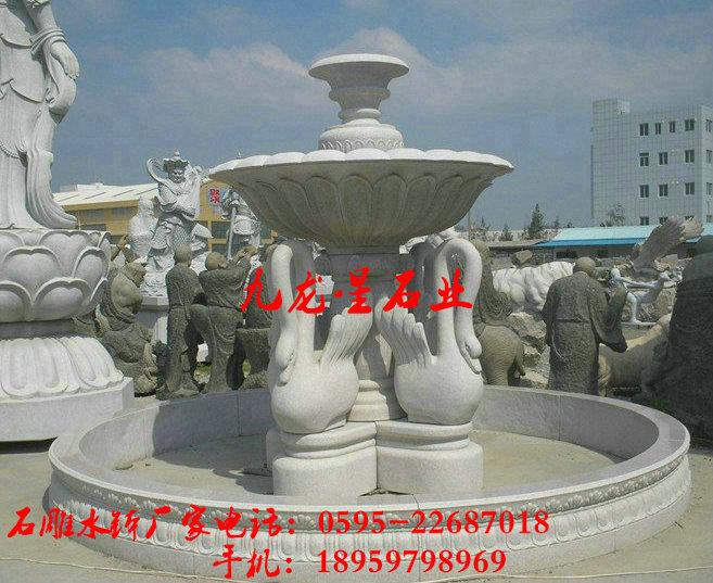 定制花岗岩喷泉,石雕水钵,欧式喷泉,景观工程水景雕塑