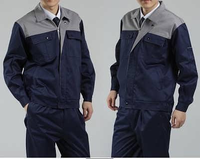 郑州服装厂家定做装修公司工人工装定制秋冬棉衣工作