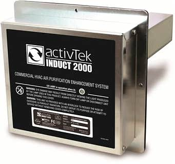 艾可艾尔美国空调净化器INDUCT2000