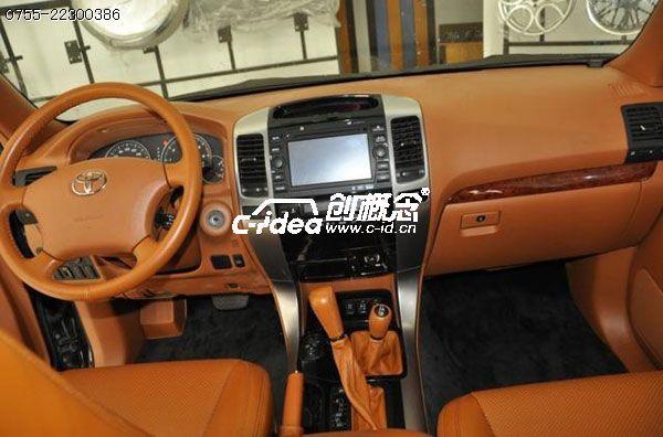 丰田汽车内饰改装,丰田霸道仪表台改装升级.