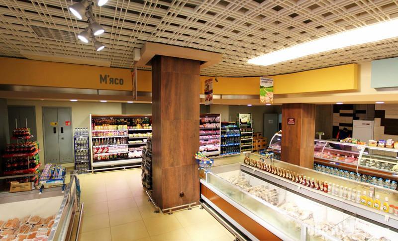 成都超市装修施工-连锁超市装修施工-商店装修
