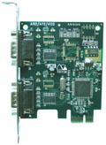 瑞旺A102,2口rs232串口卡,一分二串口扩展卡-台湾瑞旺科技股份有限公司